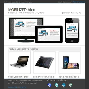 Email Template: Mobilized
