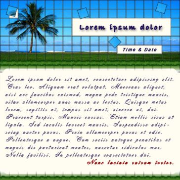 Email Template: Palm