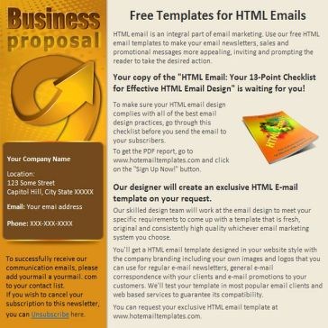 Email Template: Offer of cooperation
