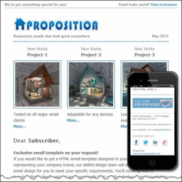 Email Template: Proposition
