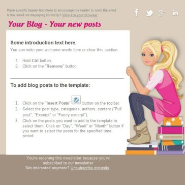 Email Template: Reader