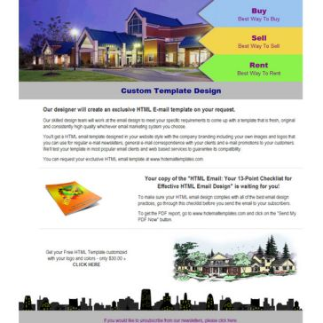 Email Template: Real Estate