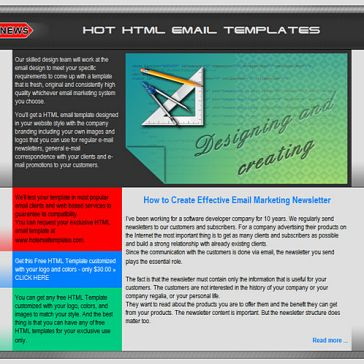 Email Template: RGB letter