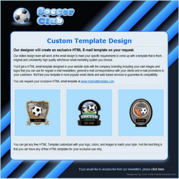 Email Template: Soccer
