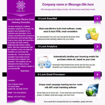 Email Template: Tassel