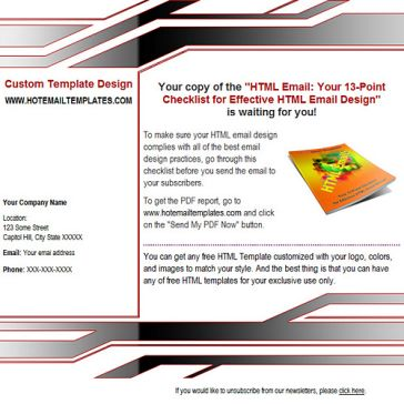 Email Template: TechStyle