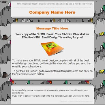 Email Template: Up & Down