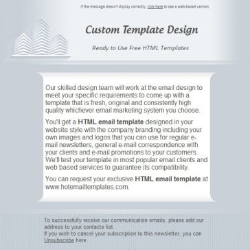 Email Template: Urban
