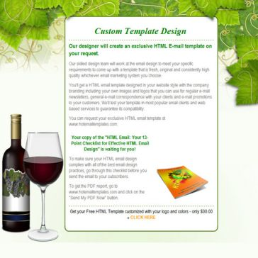 Email Template: Grapevine