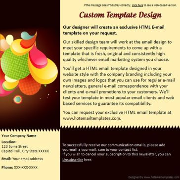 Email Template: Vivid
