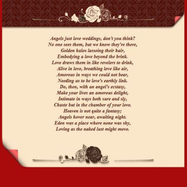 Email Template: Wedding Cards