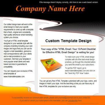 Email Template: Whirlwind