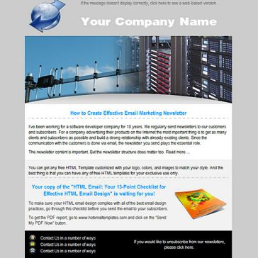 Email Template: Wireless