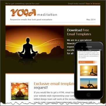 Email Template: Yoga