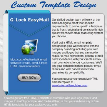 Email Template: Your choice