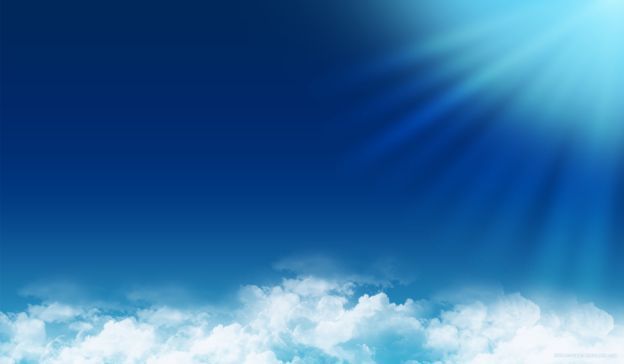 Email Template: Blue sky