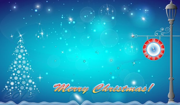 Email Template: Merry Chistmas and Happy New Year!